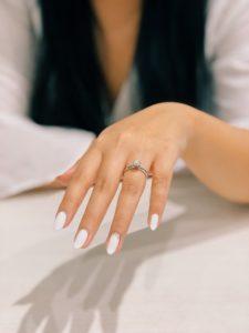 brides manicure