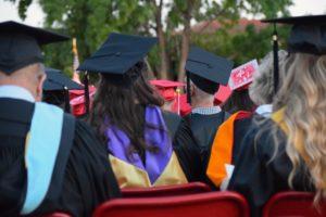 University graduation event